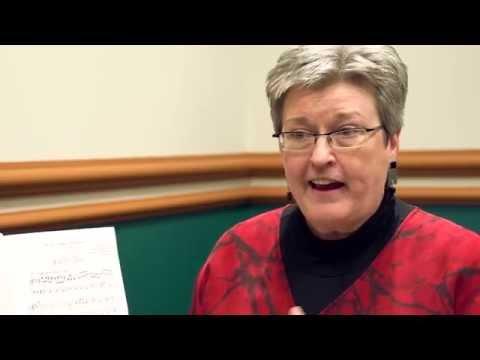 Sheet Music Plus Interviews Mary Lynn Lightfoot, editor of Sing!из YouTube · Длительность: 15 мин18 с