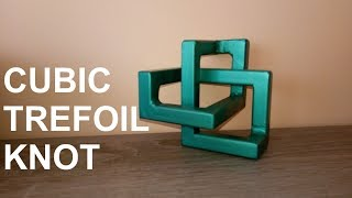 Cubic Trefoil Knot from Metal