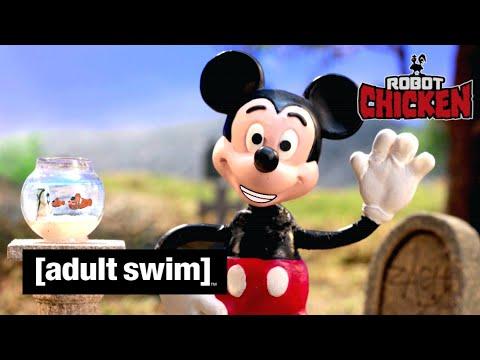 Adult Swim VF - Robot Chicken 🇫🇷   Le Meilleur De Disney