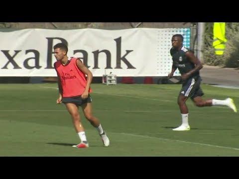 Vinicius Junior impressionne les joueurs du Real et montre une belle complicité avec Benzema