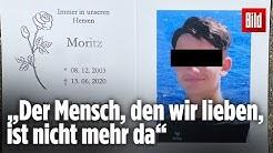 100 Menschen nehmen Abschied von totem Teenager Moritz († 16)