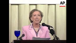 British Foreign Secretary Margaret Beckett on visit to Hong Kong