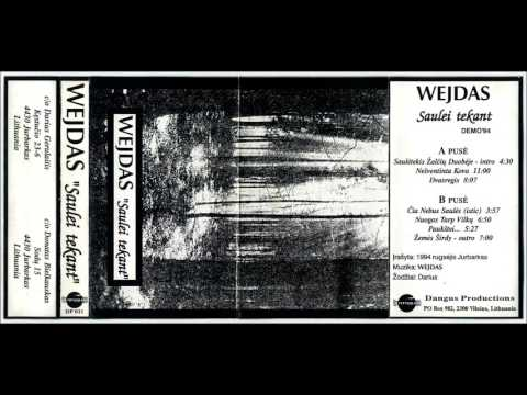 Wejdas - Saulei Tekant [Demo II] (1994) (Dark Ambient, Atmospheric Dungeon Synth)