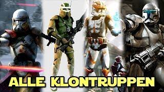 Star Wars: Alle Klontruppen Arten und ihre Besonderheiten [Legends]