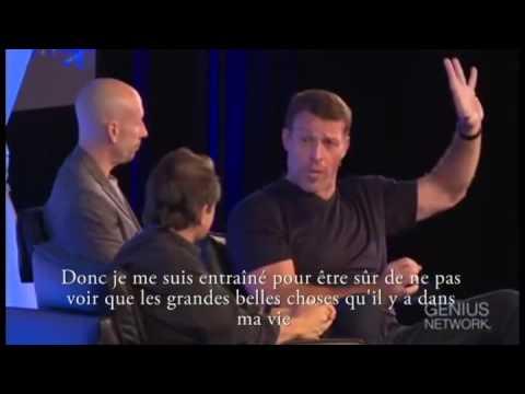 Le rituel matinal de Tony Robbins