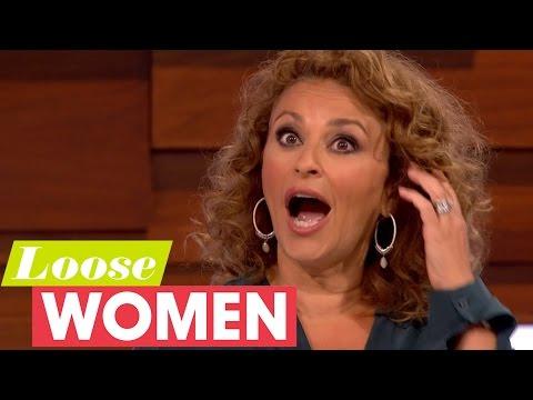 Gloria Asks Nadia Sawalha If She's Got A Drinking Problem | Loose Women