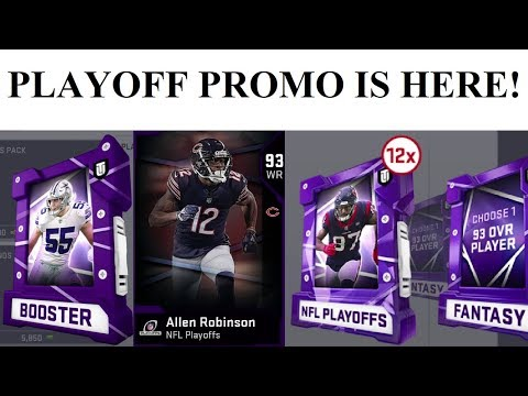 PLAYOFF PROMO BUNDLE AND BREAKDOWN! MADDEN 19 ULTIMATE TEAM