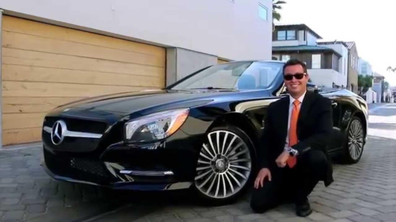 2015 Mercedes Benz SL400   YouTube