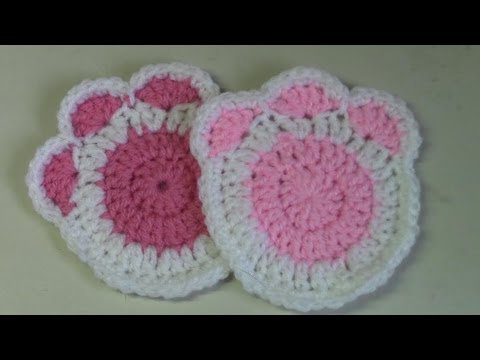 Haken Tutorial 183 Kattenpootjes Youtube