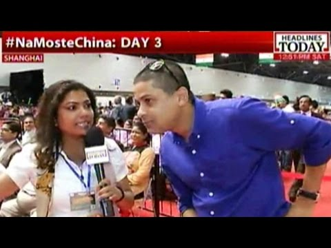 5000 Indians In Shanghai At Cultural Event Wait For Modi