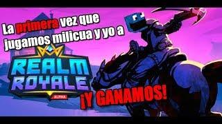 MI PRIMERA VICTORIA | Realm Royale - NUEVO BattleRoyale -
