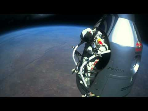 Felix Baumgartner's Skydive From The Edge Of Space