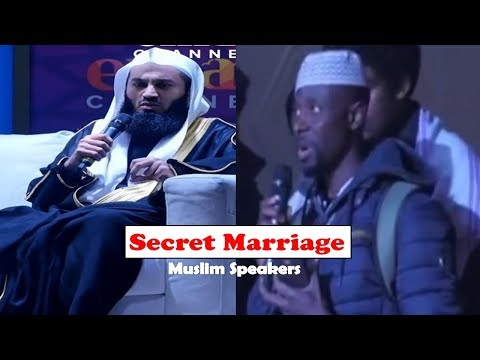 Is a Secret Nikah Valid? - Ask Mufti Menk - 2018 thumbnail