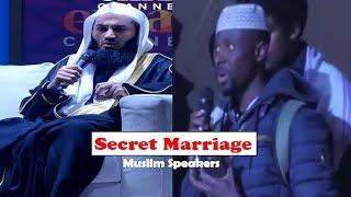 Is a Secret Nikah Valid? - Ask Mufti Menk - 2018
