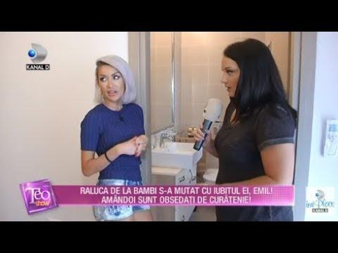 Teo Show (28.09.2018) - Raluca de la Bambi s-a mutat cu iubitul ei, Emil! Partea 6