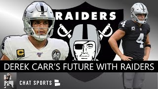 Raiders Rumors: Will Derek Carr Be The Las Vegas Raiders' Starting QB In 2020?