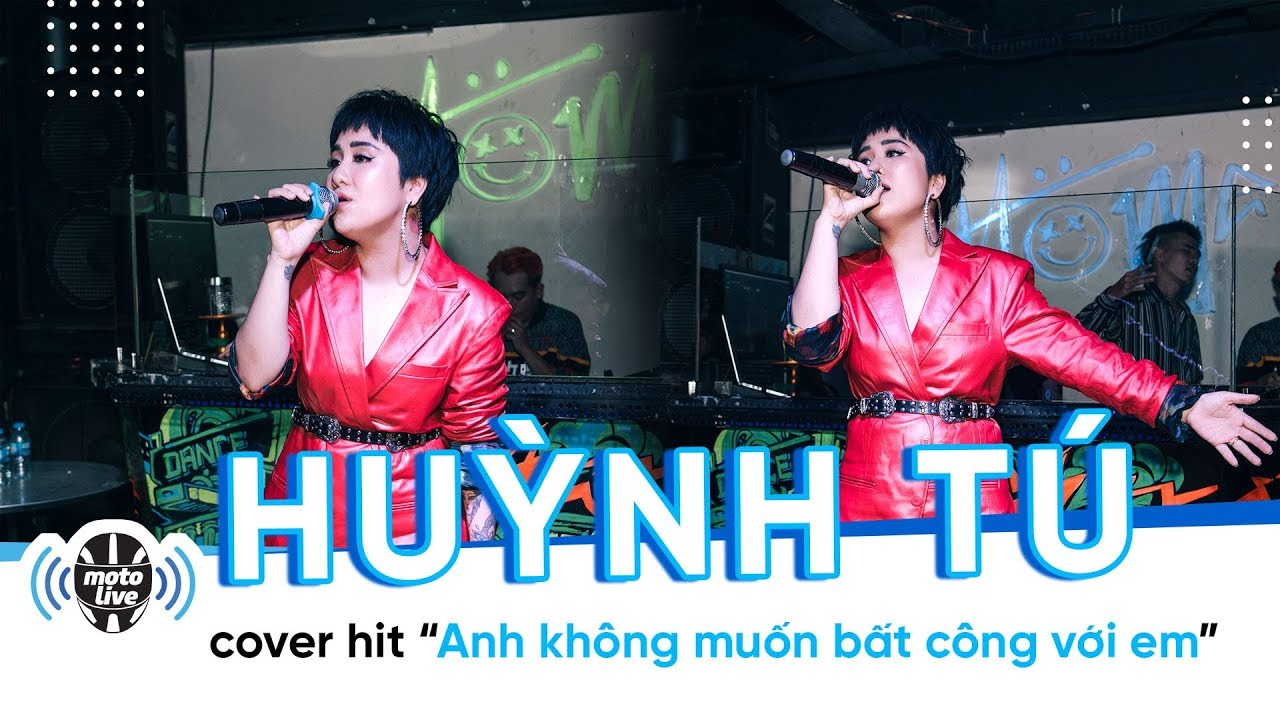 """KINGLIVE   Huỳnh Tú lần đầu cover hit """"Anh không muốn bất công với em"""" tại #Saigonsimplelove"""