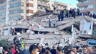 Temblor y tsunami afectan a Turquía