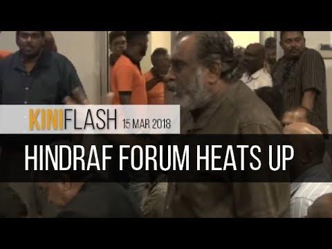 KiniFlash - 15 Mar: Hindraf forum heats up after Mahathir blamed for Indian woes