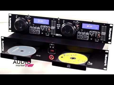 NUMARK CDN77usb CD Player Profesional Dual para Rack Audiomarket.com.ve