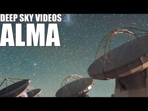 ALMA - Deep Sky Videos