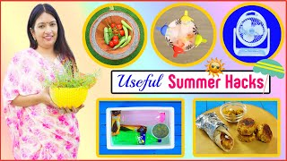 6 SUMMER HACKS You Must Know | Kitchen Tips & Tricks | CookWithNisha