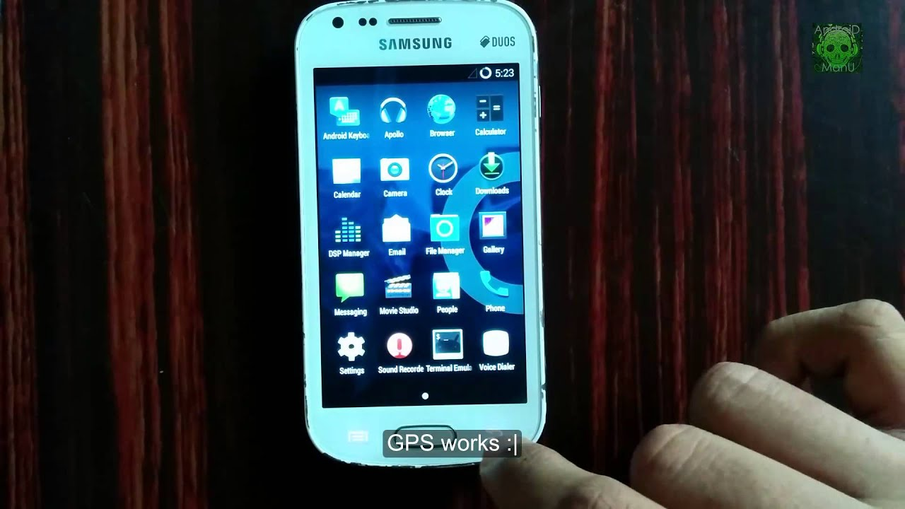UnofficialCyanogenMod 11 By Gohelvishal For Samsung Galaxy S Duos GT S7562