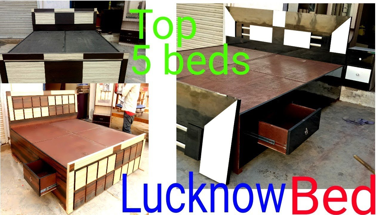 Double bed lucknow furniture desighner double bed modular double bed