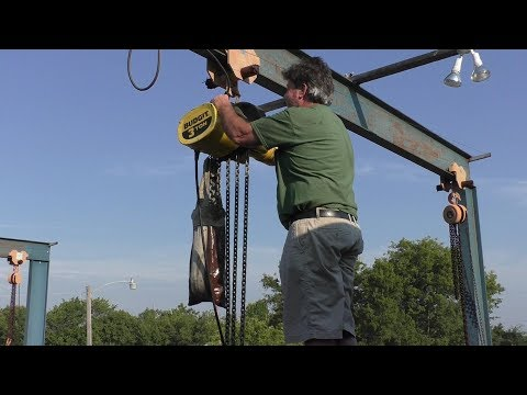 Crane Repairs, Welding, Sewing and Painting