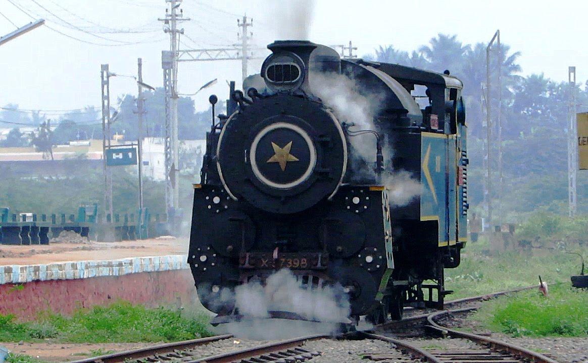 Steam Loco Action on World Heritage NILAGIRI Mountain Railway ...