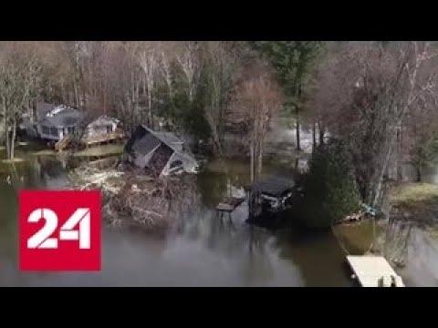 Наводнение в Канаде: более 12 тысяч человек эвакуированы — Россия 24