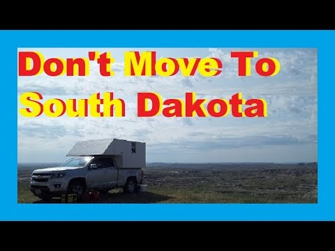 South Dakota May Stop Nomad Domicile RV Living Full Time / Van Life