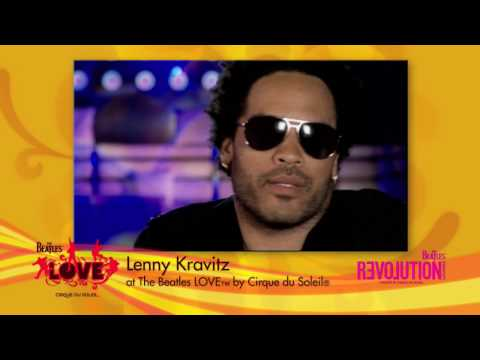 Lenny Kravitz sees The Beatles™ Love™ by Cirque du Soleil®