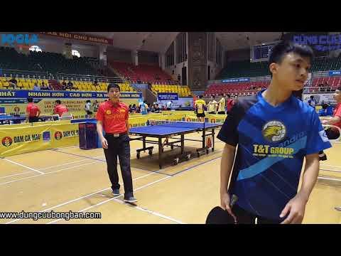 Đinh Quang Linh ( Muối ) vs Nguyễn Doãn Thức ( T&T ) - Giải Bóng Bàn Toàn Quốc Báo Nhân Dân 2017