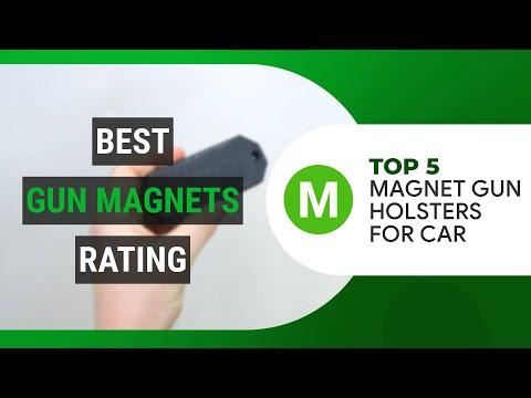 BEST GUN MAGNETS  Top 5 magnet gun holsters for car | MOTORINGCRUNCH.COM