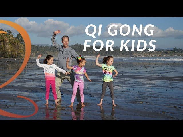 Simple 13-Min Qi Gong Routine for Kids with Qi Gong Teacher Lee Holden