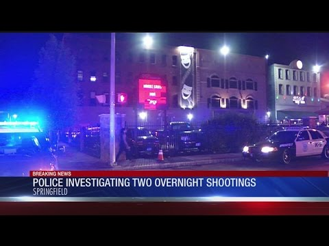 Springfield Police investigating 2 overnight shootings