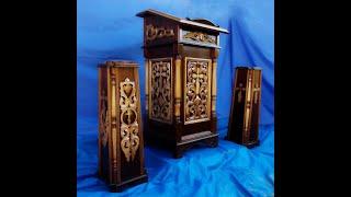 Скарбонка или ящик для пожертвований(Другие видео и фото на сайте: www.vkrakotka.by (столярная мастерская по изготовлению церковной утвари и предметов..., 2015-08-25T04:30:22.000Z)