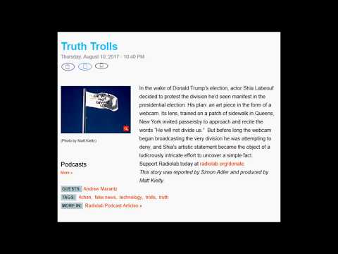 Truth Trolls
