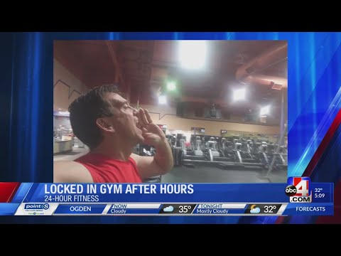 The Afternoon News with Kitty O'Neal - Guy Gets Stuck in 24 Hour Fitness Not Open 24 Hours