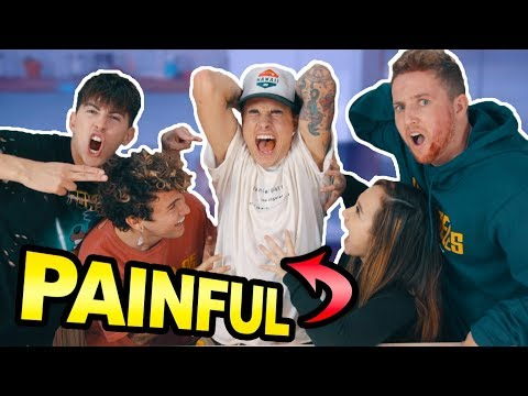 ROOMMATE PAIN CHALLENGE!! (FREAKOUT)