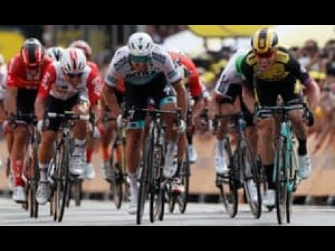 Tour De France Stage 1 Highlights (Peter Sagan 2nd)