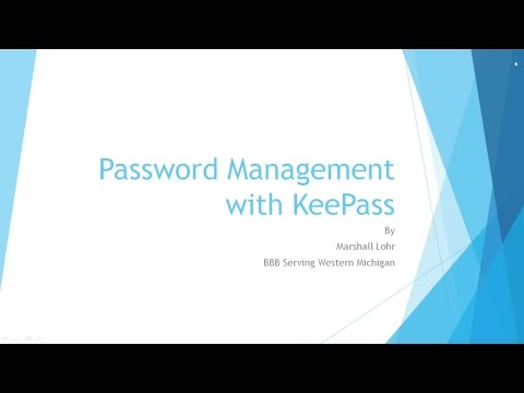 Keep Passwords Secure with KeePass (Tutorial) - YouTube
