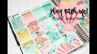 "Plan With Me! ft. Shop Jessica Hearts ""Mermaid Maiden"""