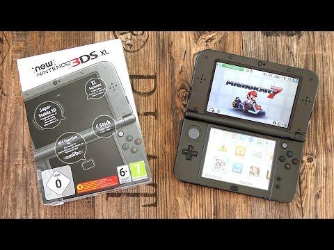 New Nintendo 3DS XL Unboxing und erster Eindruck! (Metallic Black) - felixba