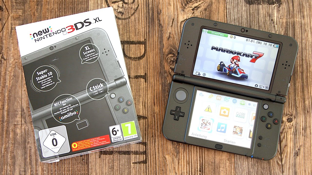 how to find firmware on 3ds xl