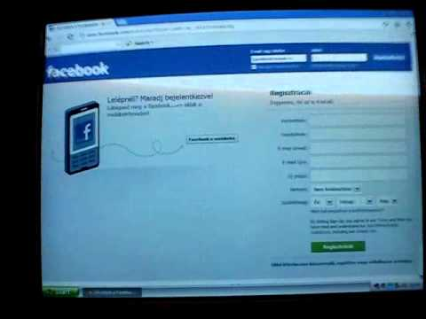 Facebook Bejelentkezés