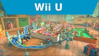 Wii U - Mario Kart 8 Ribbon Road Course Trailer