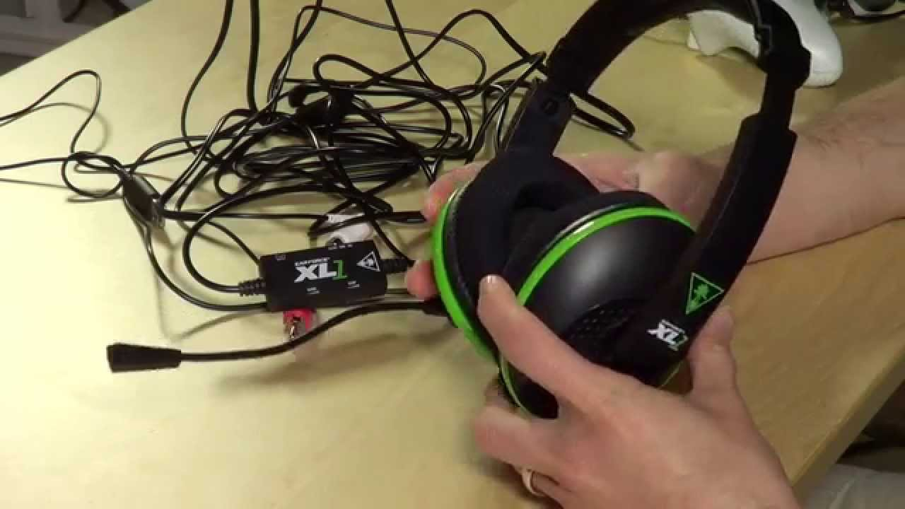 8dc77752543 Turtle Beach Ear Force XL1 for Xbox 360 Review - Amplified Stereo Gaming  Headset - FFP - YouTube