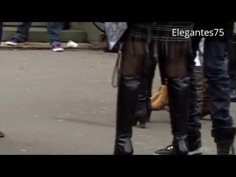 #PFW Sexy high heels boots